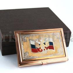 """Визитница """"Герб России"""""""