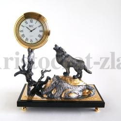 """Часы """"Волк большие"""""""