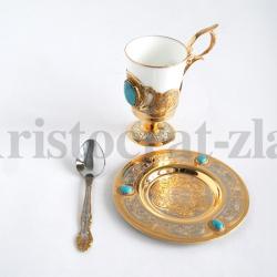 "Набор кофейный ""Бирюза"""